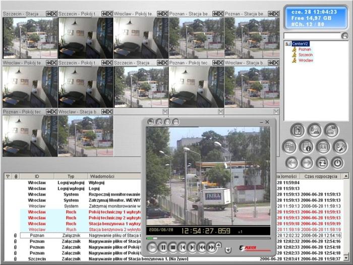 GV-Center V2 Pro - Oprogramowanie NVR i CMS