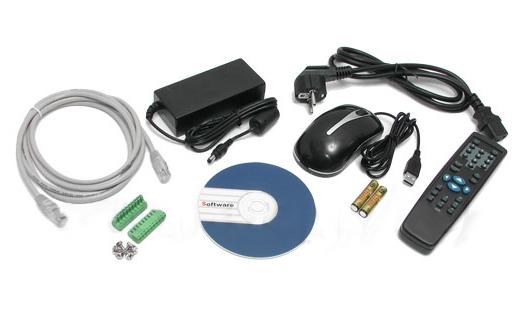 LC-DVR-0804HF-A - Rejestratory 8-kanałowe
