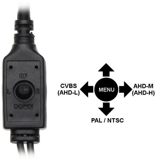 LC-SZ1000 MINI 3,6 mm - Kamera Dzień/Noc Full HD - Kamery kopułkowe
