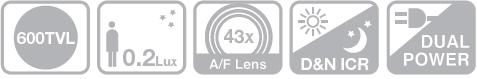 SCZ-2430 - Kamery zintegrowane