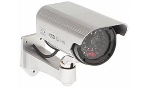Atrapa kamery zewnętrznej z czujnikiem ruchu